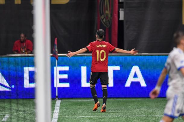 Miguel Almirón continues his remarkable form this season | Source: Dale Zanine-USA TODAY Sports
