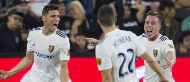 Damir Kreilach scored a brace as RSL overcame LAFC   Source: USA TODAY Sports