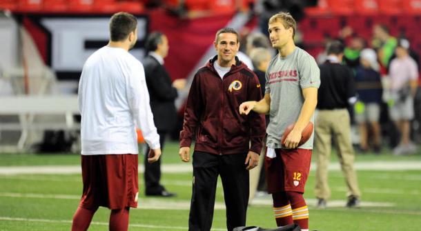 LaFleur was the quarterback coach when Kirk Cousins was in Washington | Source: radio.com