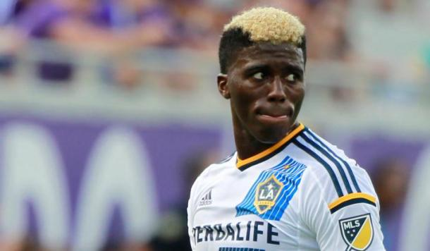 Gyasi Zardes will need to step up for the LA Galaxy with Robbie Keane out for the club for a little more then a month. Photo provided by USA TODAY Sports.