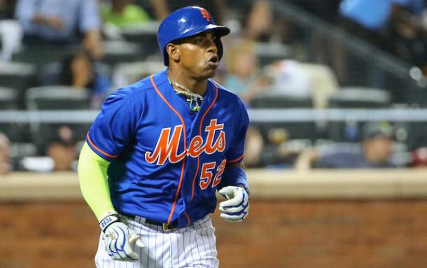 Cespedes was the key piece the Mets needed and he carried the team to the 2015 World Series/Photo: Tom Uhlman/Associated Press