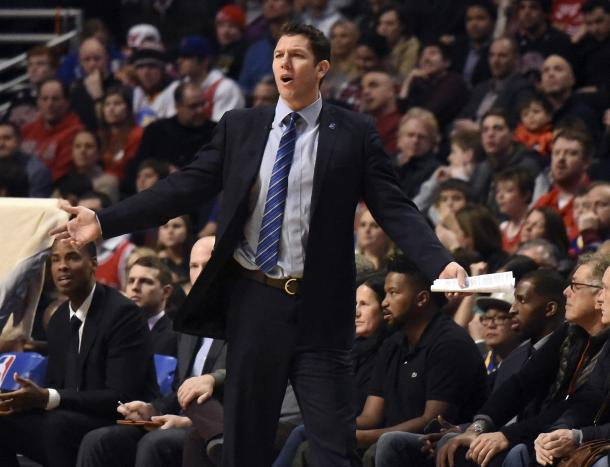 Luke Walton would be a great replacement for J.B. Bickerstaff, as he is coming from the team that the Houston Rockets idolize: the Golden State Warriors. Photo: David Banks/USA Today