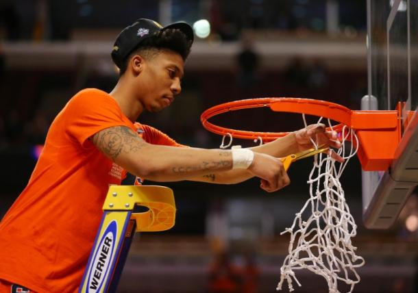 Mar 27, 2016; Chicago, IL, USA; Syracuse Orange guard Malachi Richardson. USA Today
