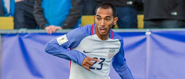Castillo con la selección USA. // Imagen: MLSsoccer