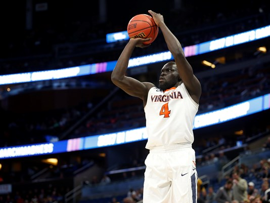 Shayok was a huge offensive weapon for Virginia off of the bench//Photo: Kim Klement