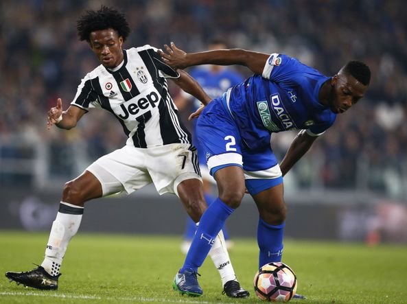 Wague contrasta Cuadrado, gazzetta.it