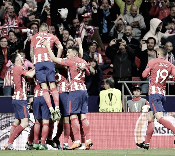 Los colchoneros buscarán su octavo título internacional. | Foto: Prensa Atlético Madrid