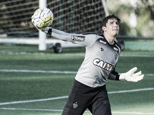 Uilson pode continuar sendo embaixo das trave atleticanas (Foto: Bruno Cantini/Atlético-MG)