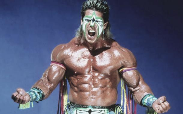 The Ultimate Warrior got the crowd pumped. Photo- WWE.,com