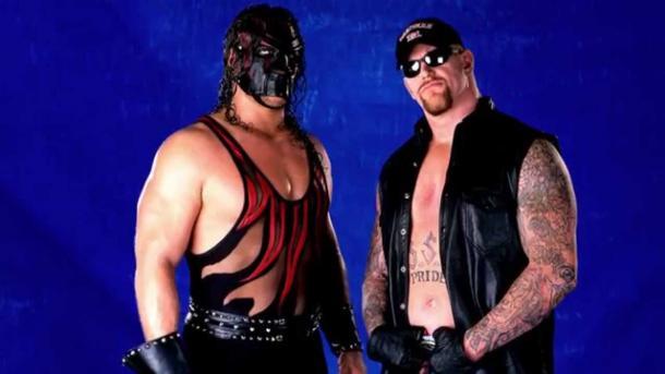 Kane y Undertaker como brothers of desruction. Foto: WWE.com
