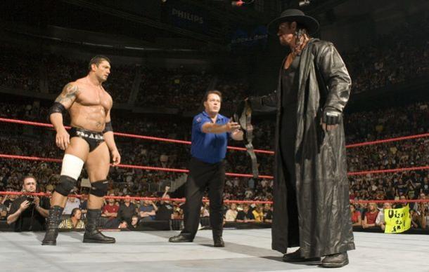 La rivalidad Batista-Undertaker fue legendaria. Foto: WWE.com