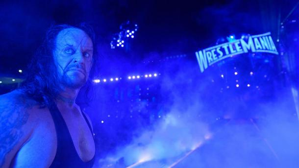 This may have just been one final thrill ride for The Undertaker (image: wwe,com)