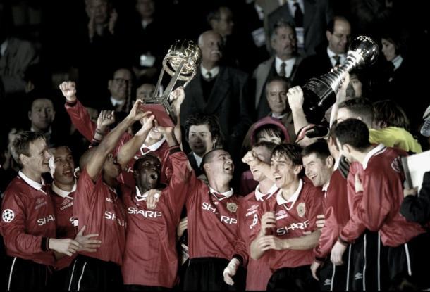 El United se quedó con la Intercontinental en 1999   Foto: ManUtd