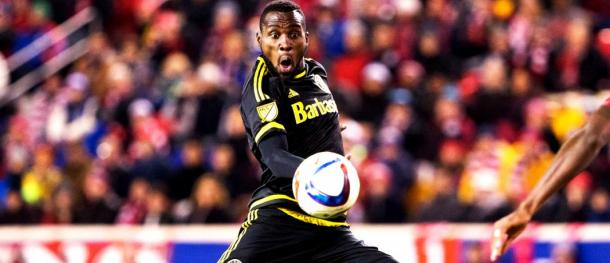Will Tony Tchani make his debut for the Whitecaps this Saturday. Photo provided by USA TODAY Sports.