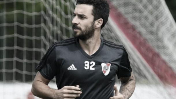 El ex Newells volvió esta semana a practicar con pelota. Fuente: Diario El Litoral.