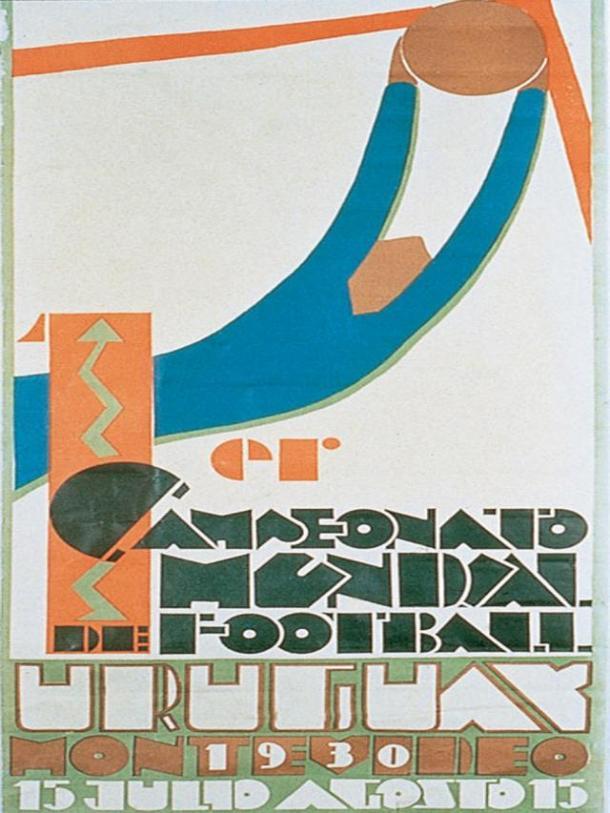 Logo del Mundial de Uruguay 1930 | Foto: Wikicommons