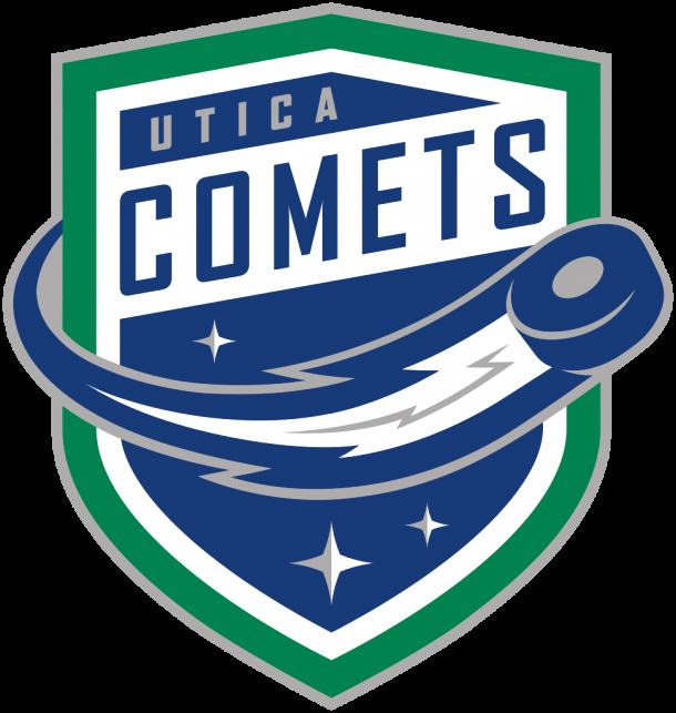 Logo de los Utica Comets / StickPNG