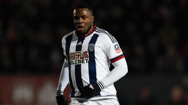 Anichebe in action for West Brom. | Image source: Sky Sports