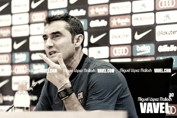 Valverde en su nueva etapa en el FCB | FOTO: Miguel López Mallach VAVEL
