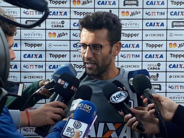 """Valentim confia que """"fator casa"""" será primoridal para que Valencia ajude o Glorioso (Divulgação/Botafogo)"""