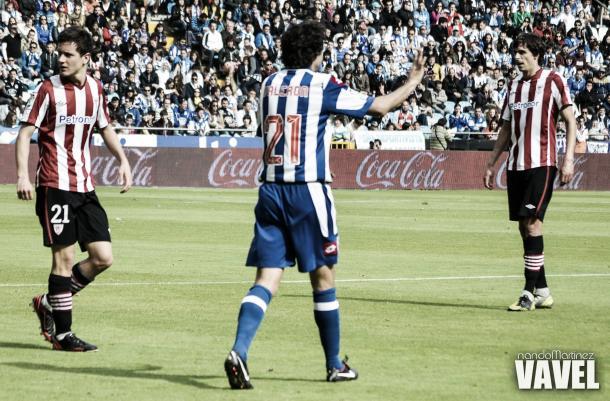 Valerón en imagen de archivo en el Deportivo   Fuente: Nando Mtnez - VAVEL