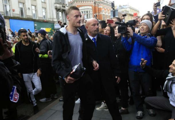 Vardy fue condenado tras una pelea en un bar |Foto; The Mirror