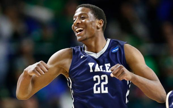 Yale is moving on after a huge upset of Baylor. It was the first NCAA Tournament victory in program history for the Bulldogs. (USATSI)