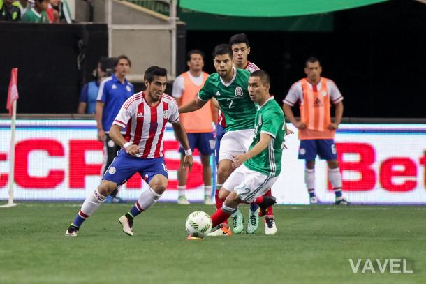 Dario Lezcano expected to be the star of the national team. Photo: Jim Lacey/VAVEL USA
