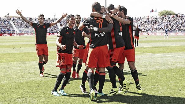 Culminación de la remontada en Butarque | Valencia CF