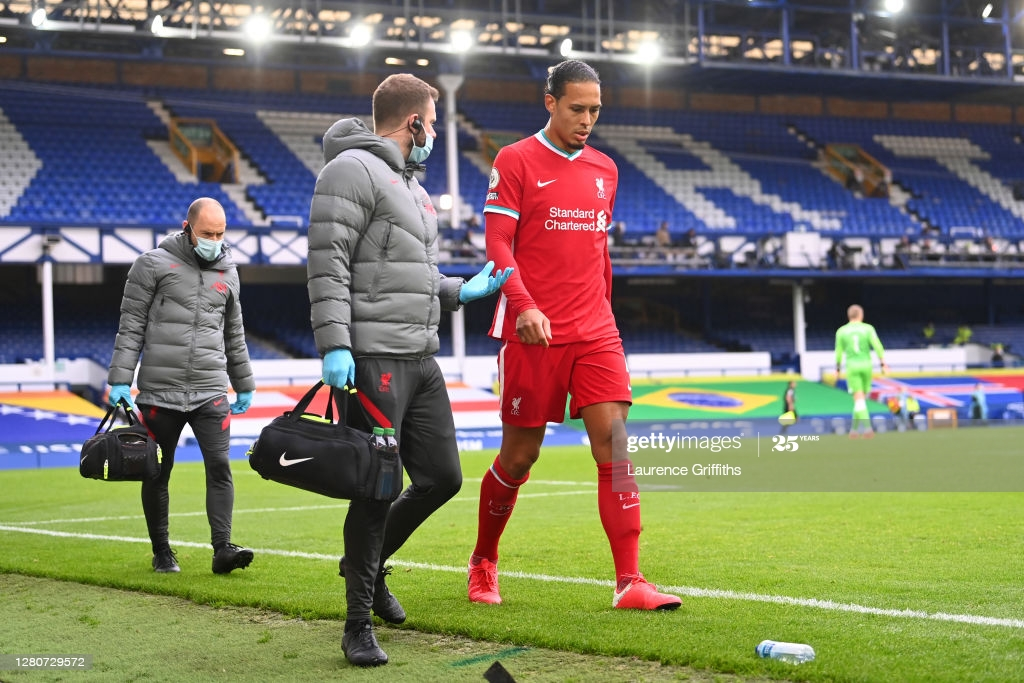 Liverpool have been without Virgil van Dijk since he got injured against Everton in the Merseyside derby.