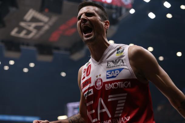 Cinciarini Andrea EA7 Emporio Armani Milano - Dolomiti Energia Trento Lega Basket Serie A 2017/2018 Playoff Finale gara 5 Milano, 13/06/2018 Foto Ciamillo-Castoria
