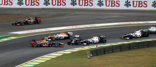 Accidente de Vettel, 2012 / Fuente: Twitter @F1