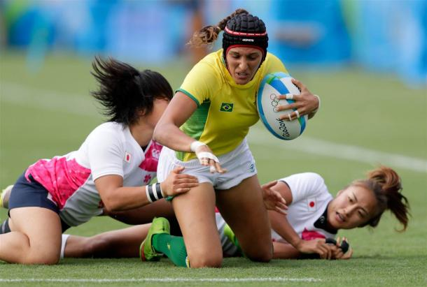 Brazil managed to end their tournament on a high by beating Japan. (Photo credit: Jamie Squire/Getty Images)