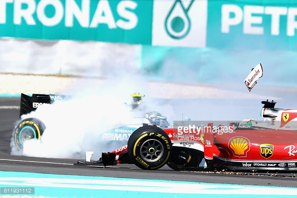 Vettel's gamble backfired. | Photo: Getty Images