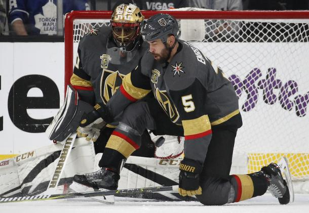 The Vegas Golden Knights continue to impress and beat good teams along the way. (Photo: Boston Herald)
