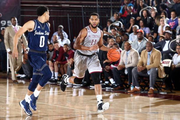 Cole is an outstanding player for North Carolina-Central/Photo: MEAC Media Relations
