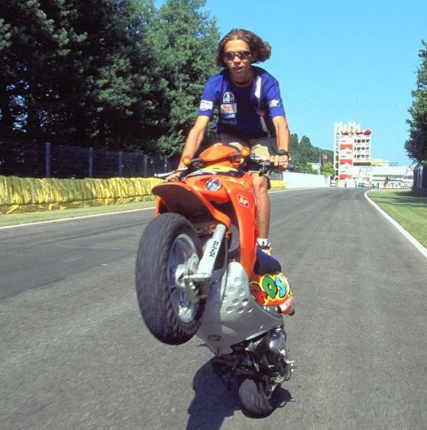 Valentino Rossi de pequeño. | Fuente: Instagram Oficial
