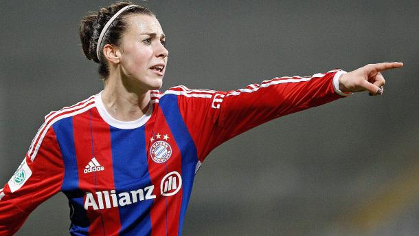 Viktoria Schnaderbeck has become an increasingly important part of the Bayern side. | Image: DFB.de