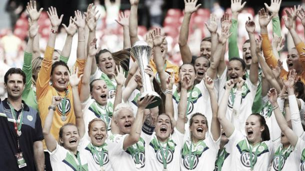 Wolfsburg will want more than a DFB Pokal cup this season | Source: dfb.de