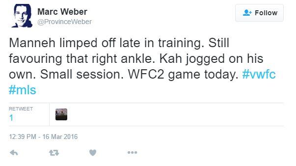 Marc Weber's tweet regarding Kekuta Manneh / @ProvinceWeber