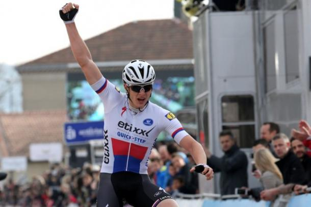 Etixx-Quickstep rider Vakoc produced a good performance to win / Cycling Weekly