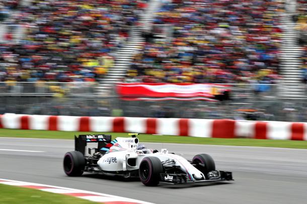 Valtteri Bottas durante el GP de Canadá | Fuente: Getty Images