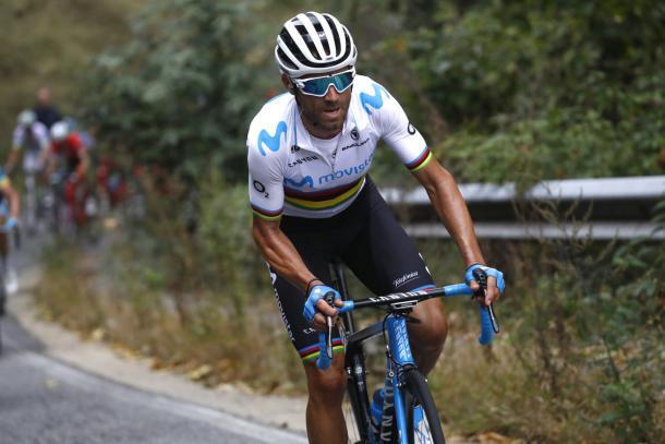 Buen desempeño de Valverde en el Tour.   Foto: LeTour
