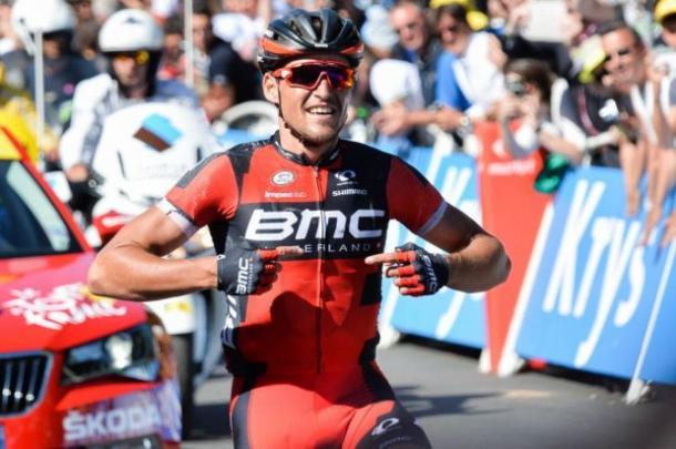 Van Avermaet ya consiguió una victoria de etapa en el Tour de France 2016 | Foto: UCI