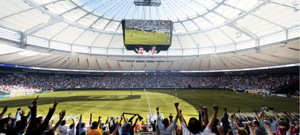 Vancouver Stadium. Fuente: Vancouver Whitecaps