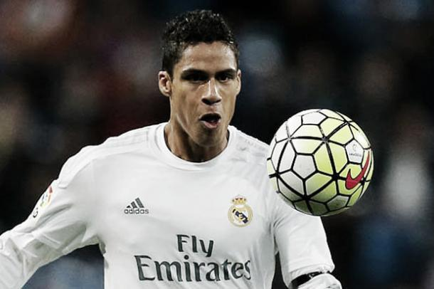 Above: Real Madrid's Raphael Varane will sit out of the game against Atletico Madrid with injury | Photo: Getty Images