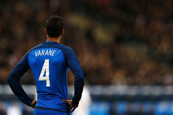 Varane apuntaba a titular en la Euro. // Foto: Getty Images