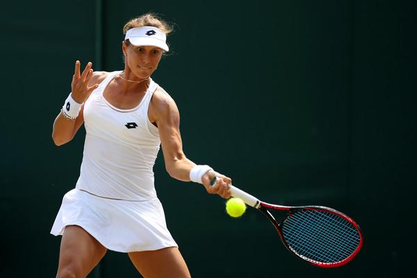 Varvara Lepchenko in action at the Wimbledon Championships | Photo: Julian Finney/Getty Images Europe
