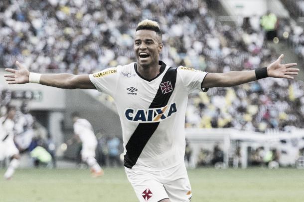Rafael Silva, o carrasco alvinegro (Foto: Divulgação/Vasco)