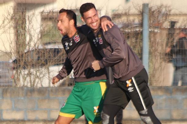 Elenco do Vasco treinou no CT da Ressacada nesta sexta-feira (1) (Foto: Carlos Gregório Jr/Vasco)